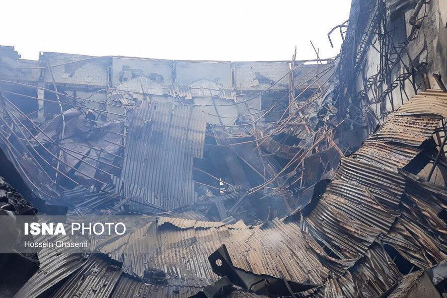 مهار آتش سوزی سالن آمفی تئاتر هتل جدید رامسر ، اتصالی سیم برق عامل آتش سوزی اعلام شد