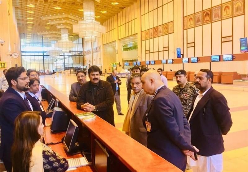تمامی فرودگاه های پاکستان امکان صدور ویزا پیدا می نمایند