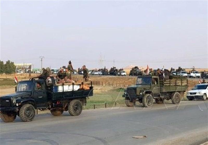 استقرار تجهیزات نظامی ارتش سوریه در حلب