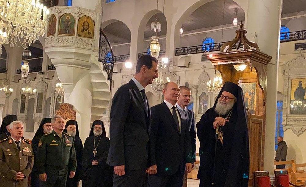 وقتی پوتین و اسد، ترامپ را مسخره می نمایند!
