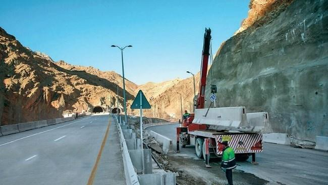 تردد آزمایشی آزادراه تهران- شمال؛ شاید دو هفته دیگر