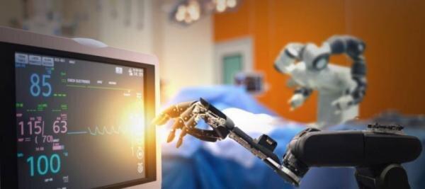 استفاده از ربات برای درمان بیمار مبتلا به ویروس کورونا در آمریکا