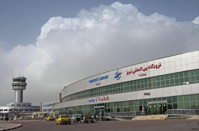 پروازهای فرودگاه تبریز بیش از 40 درصد کاهش یافته است