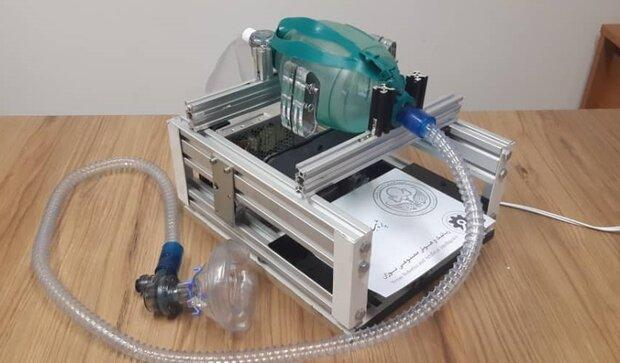 ساخت دستگاه تنفس مصنوعی برای بیماران مبتلا به کرونا در کشور