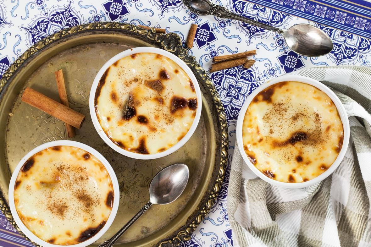 2 طرز تهیه دسر خوشمزه سوتلاچ با برنج یا آرد برنج؛ شیربرنج ترکی استانبولی