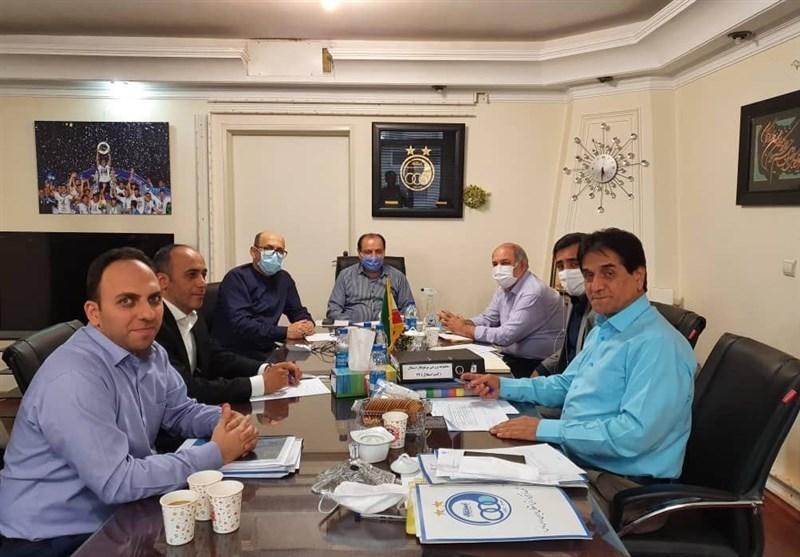 برگزاری جلسه در باشگاه استقلال با موضوع خصوصی سازی