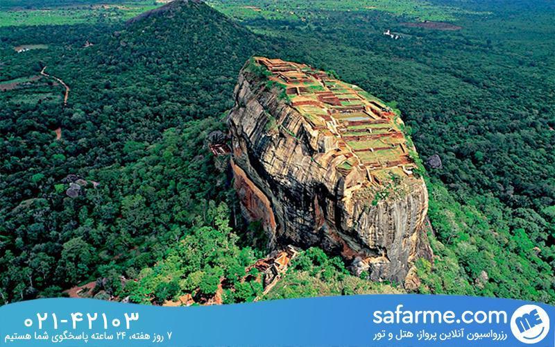 سیجیریا شگفت انگیزترین قلعه سریلانکا