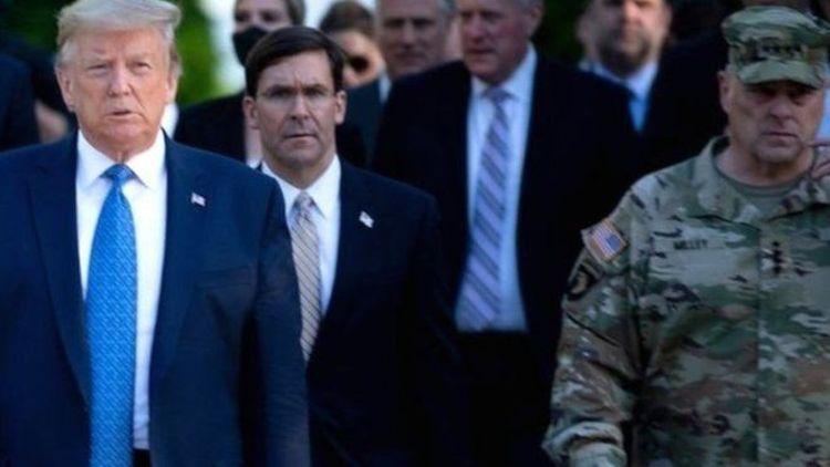 پشیمانی رئیس ستاد کل ارتش آمریکا از هم قدم شدن با ترامپ