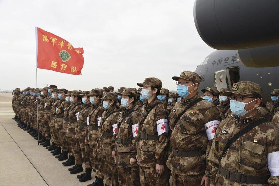 آزمایش واکسن کرونا روی نیروهای ارتش چین