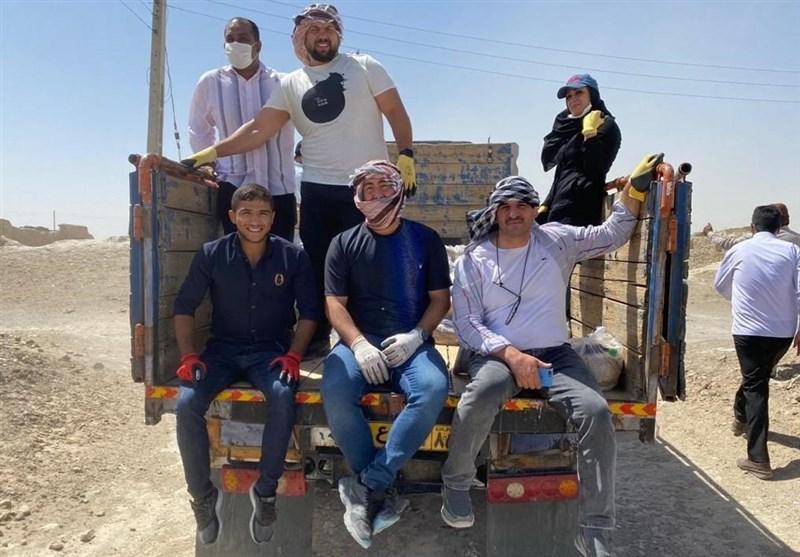 ادامه یاری های ورزشکاران به روستاهای مرز ایران و افغانستان