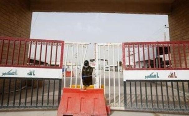 تمامی گذرگاه های مرزی با ایران برای زائران اربعین بسته است