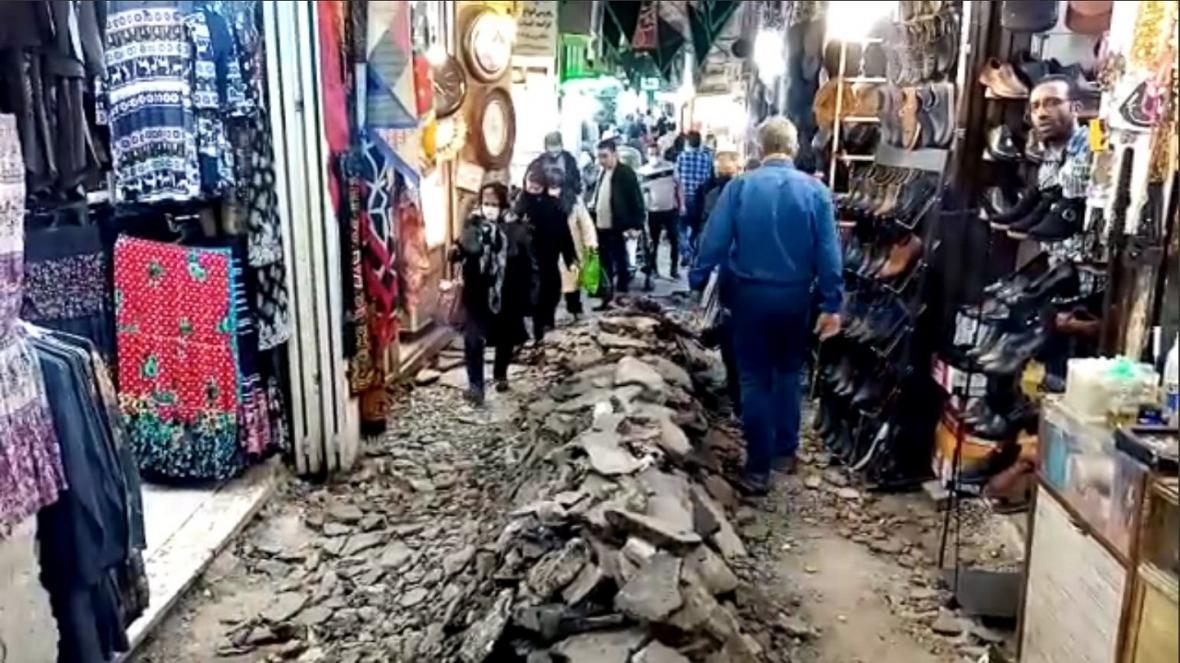 شرایط عجیب در بازار بزرگ تبریز!