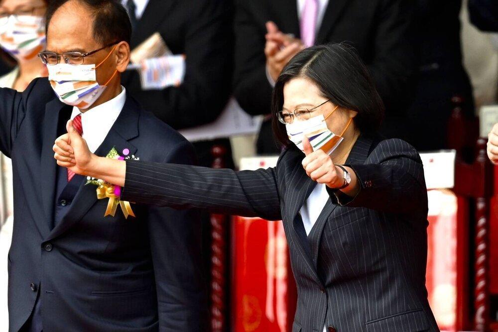 تغییر موضع ناگهانی رهبر تایوان و تاکید بر کاهش تنش ها با چین