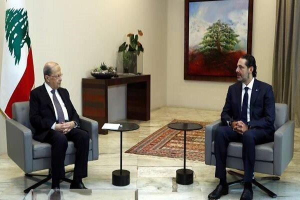 رایزنی رئیس جمهور لبنان و سعد حریری