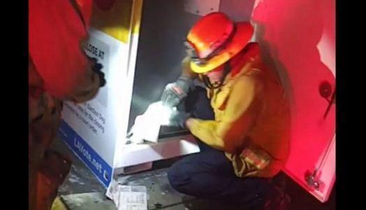 آتش زدن صندوق رأی در آمریکا ، مسئولان: احتمالاً عمدی است