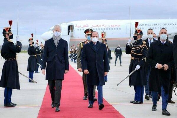 سفر السیسی به پاریس؛ همکاری در سایه فراموشی پرونده&zwnjهای حقوق بشری