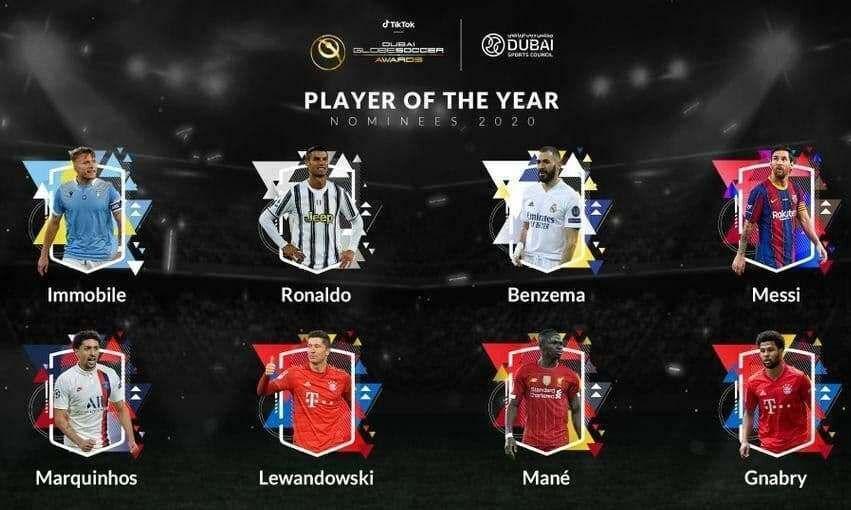 معرفی نامزدهای بهترین فوتبالیست جهان در سال 2020