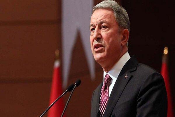 وزرای دفاع ترکیه و عراق ملاقات کردند