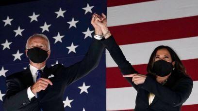 بایدن چهل و ششمین رئیس جمهوری آمریکا شد