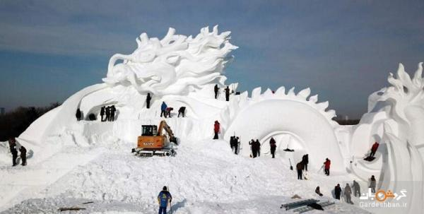 جشنواره داغ سازه های یخی در چین و بازار سرد گردشگران خارجی