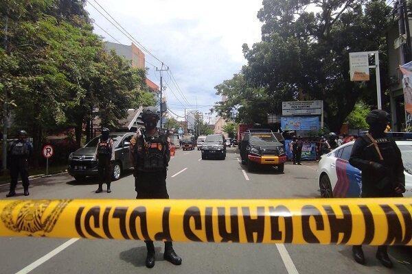 14 زخمی بر اثر انفجار در مقابل یک کلیسا در اندونزی
