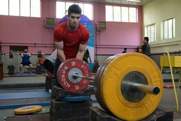 برگزاری اردوی تیم وزنه برداری جوانان در رامسر