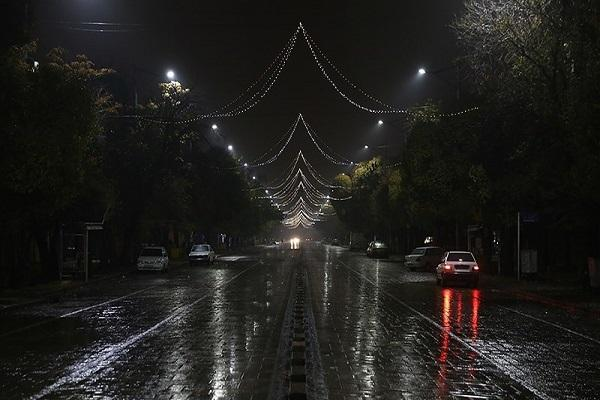 تکرار خاموشی های شبانه در تهران ، خاموشی ها منجر به افزایش تصادف شده است!