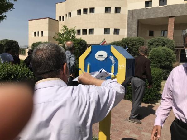 تجمع اعتراضی بازنشستگان تامین اجتماعی قزوین