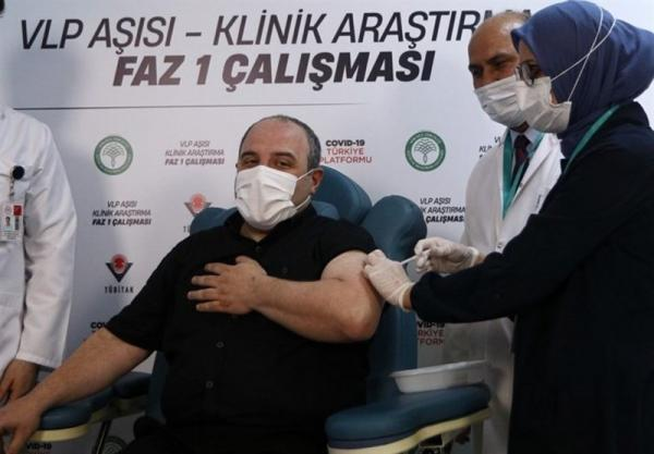 تزریق فاز اول واکسن ملی ترکیه به داوطلبان