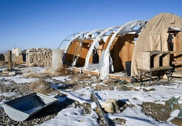 افغانستان: آمریکا یک پایگاه مخروبه را به نیروهای امنیتی افغان واگذار کرده است