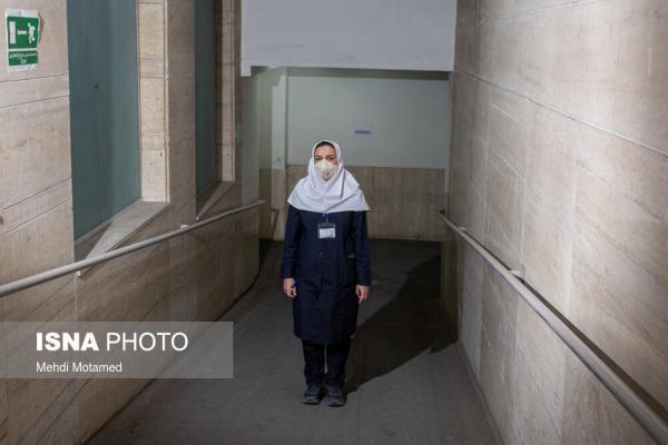 تصاویر، مدافعان خسته از کرونا