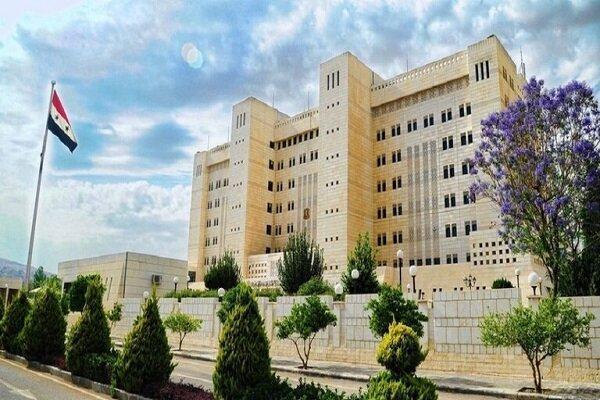 واکنش دمشق به جدیدترین اقدام خصمانه اتحادیه اروپا