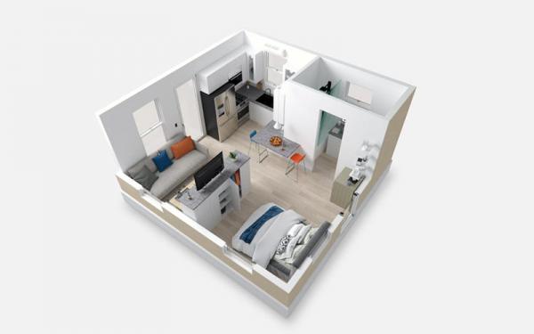 ایلان ماسک حالا در یک خانه اجاره ای 35 متر مربعی پیش ساخته ، نزدیک مقر اسپیس ایکس زندگی می نماید!