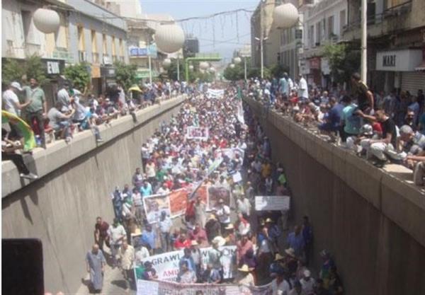 تظاهرات تازه الجزایری ها، تاکید الجزیره و دمشق بر تقویت روابط دوجانبه