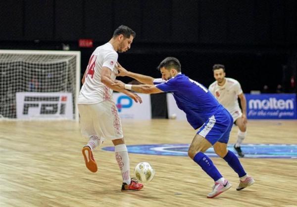 جام جهانی فوتسال، نشست هماهنگی تیم های گروه F برگزار گردید، ایران با پیراهن سفید مقابل صربستان