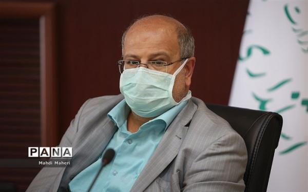 زالی: شیب ابتلا به کرونا در تهران نزولی شد